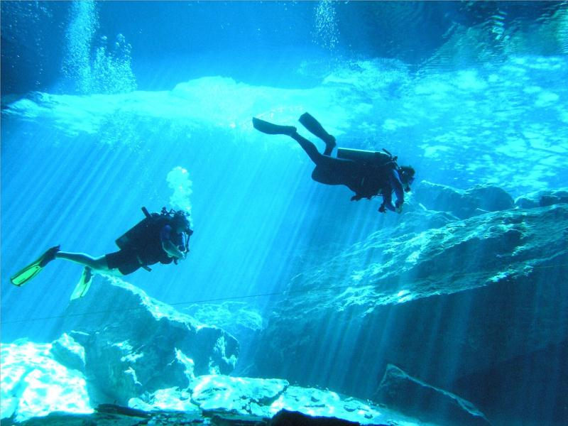 Cenote and Cavern Diving Tour